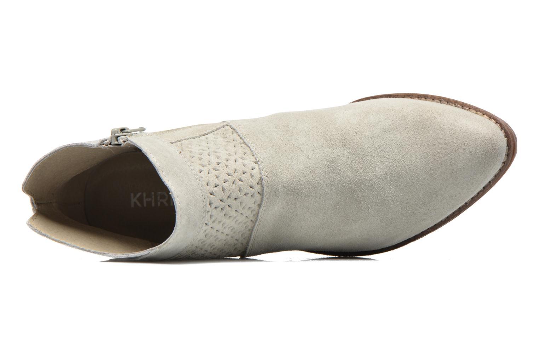 Bottines et boots Khrio Clemie Beige vue gauche
