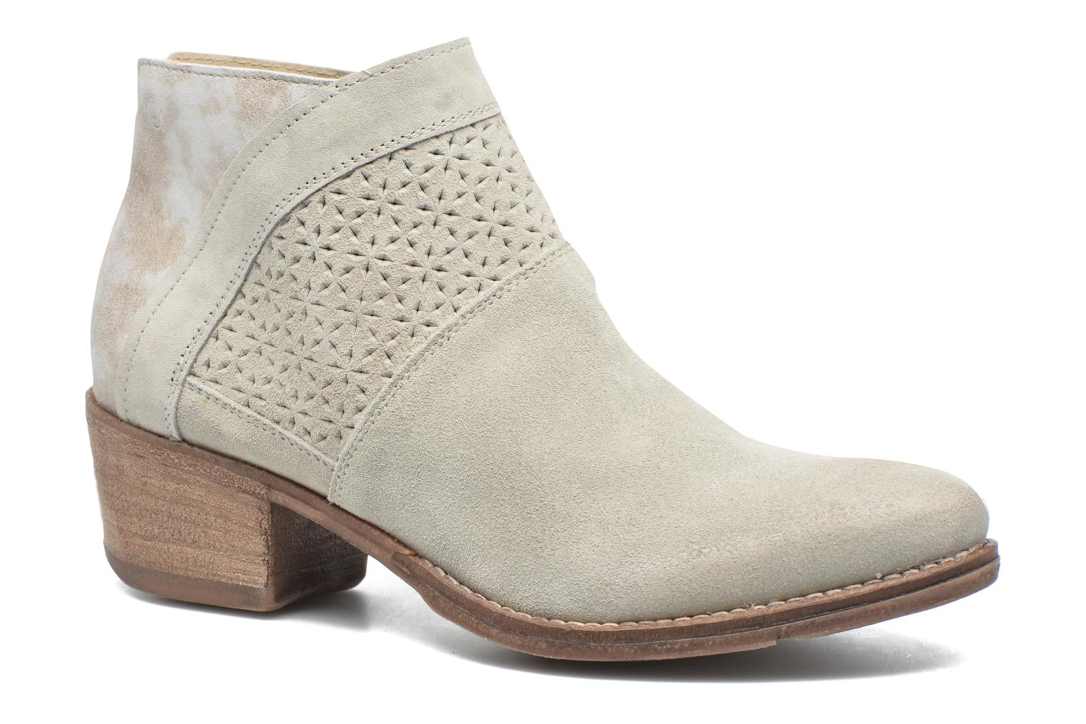 Ankle boots Khrio Clemie Beige detailed view/ Pair view