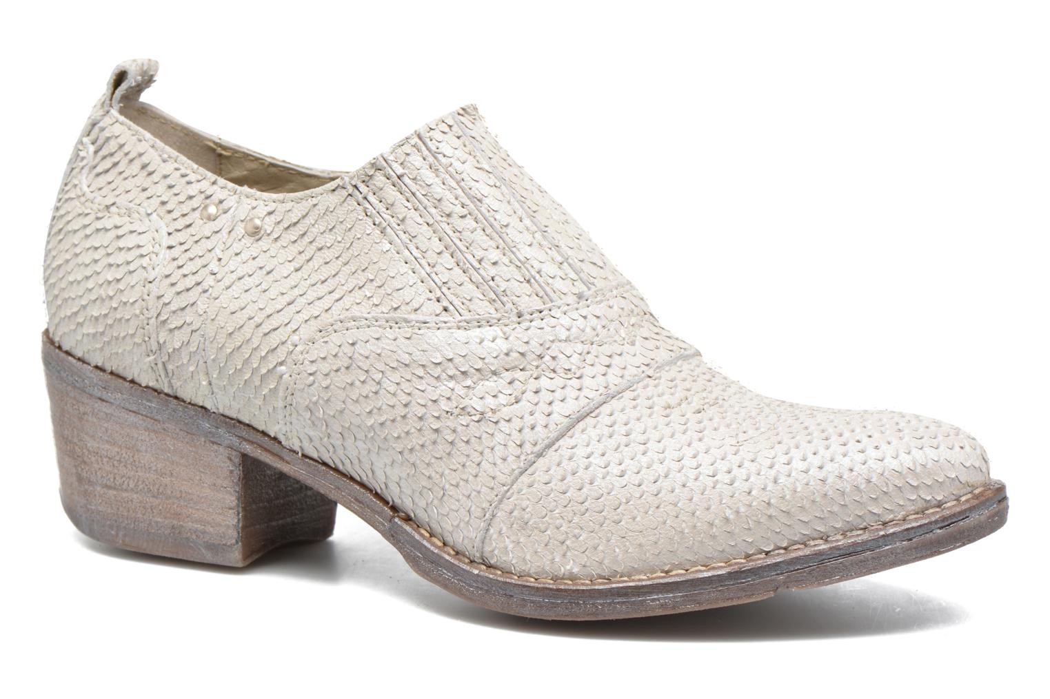 Ankle boots Khrio Fanelie Beige detailed view/ Pair view