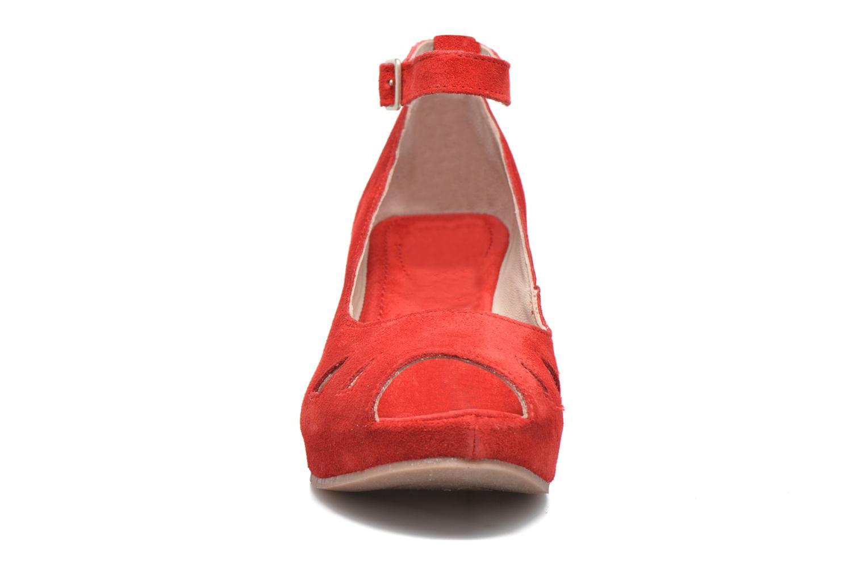 Sandalen Khrio Cylia rot schuhe getragen