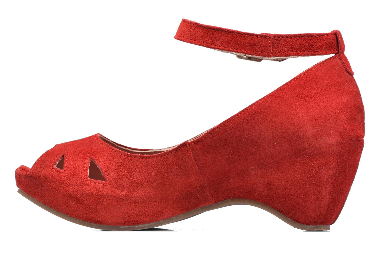 Sandalen Khrio Cylia rot ansicht von vorne