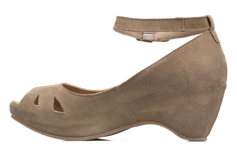 Sandali e scarpe aperte Khrio Cylia Beige immagine frontale