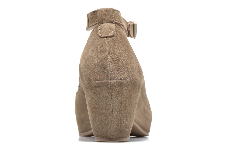 Sandali e scarpe aperte Khrio Cylia Beige immagine destra
