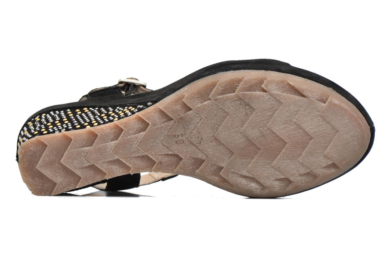 Sandales et nu-pieds Khrio Missy Noir vue haut