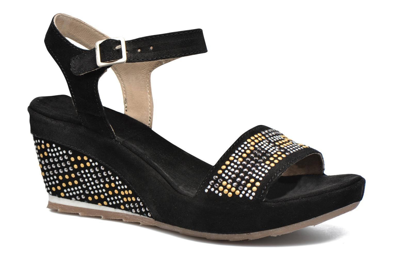 Sandales et nu-pieds Khrio Missy Noir vue détail/paire
