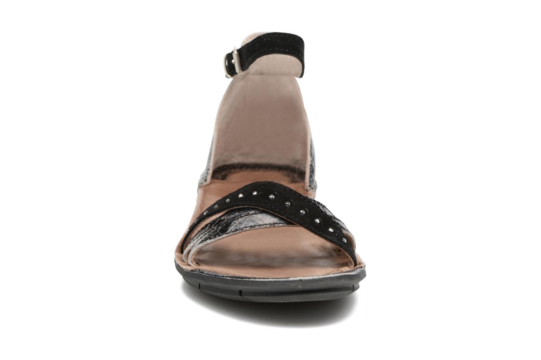 Sandales et nu-pieds Khrio Tiara Noir vue portées chaussures