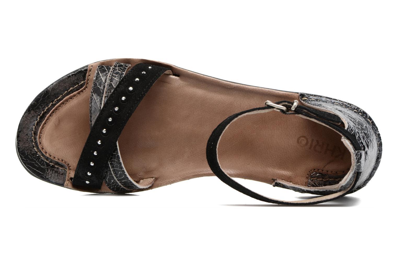 Sandales et nu-pieds Khrio Tiara Noir vue gauche