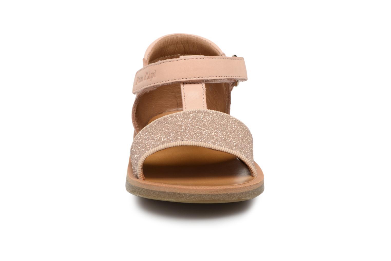 Sandales et nu-pieds Pom d Api Poppy Tao Easy Rose vue portées chaussures