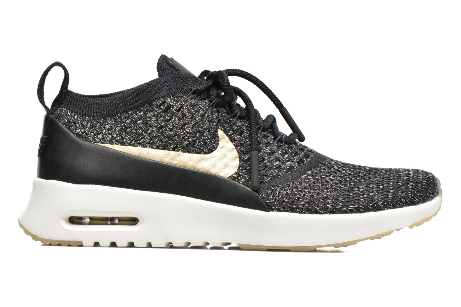Trainers Nike W Air Max Thea Ultra Fk Mtlc Black back view