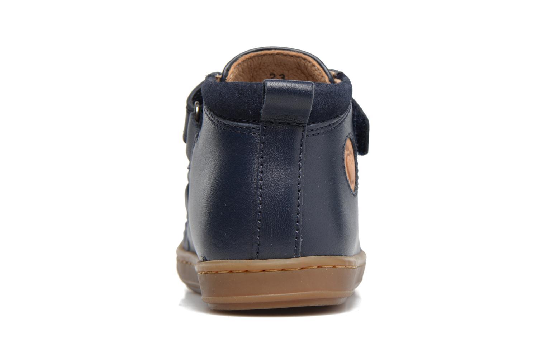 Bottines et boots Shoo Pom Bouba New Scratch Bleu vue droite