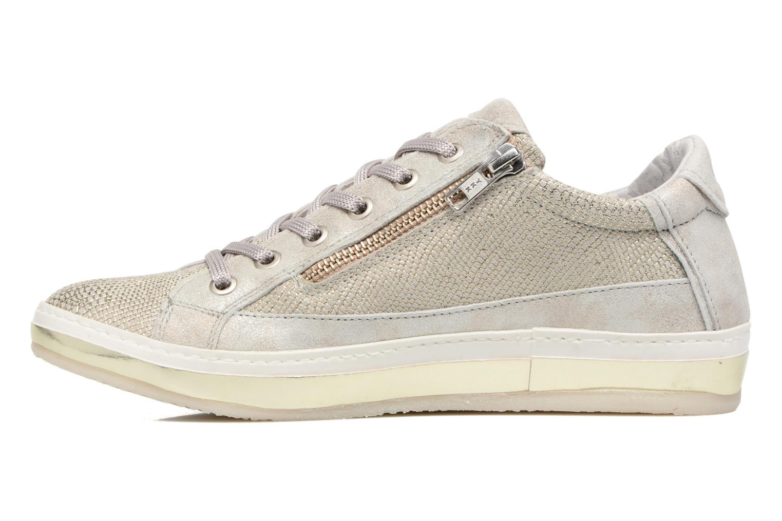 Trainers Khrio Giulia Silver front view