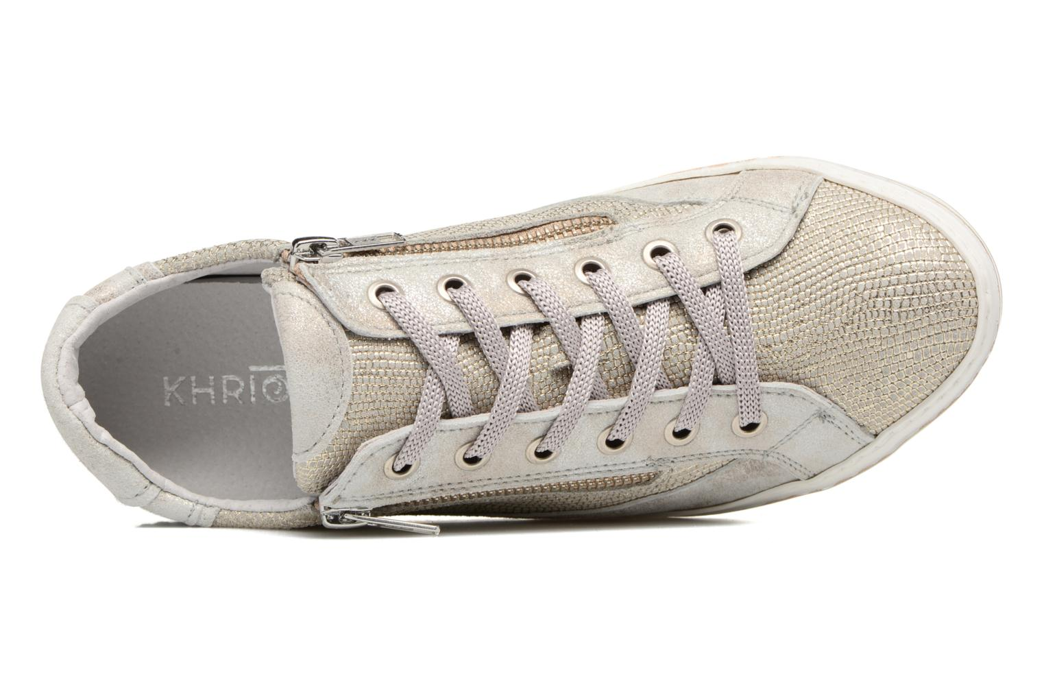 Trainers Khrio Giulia Silver view from the left
