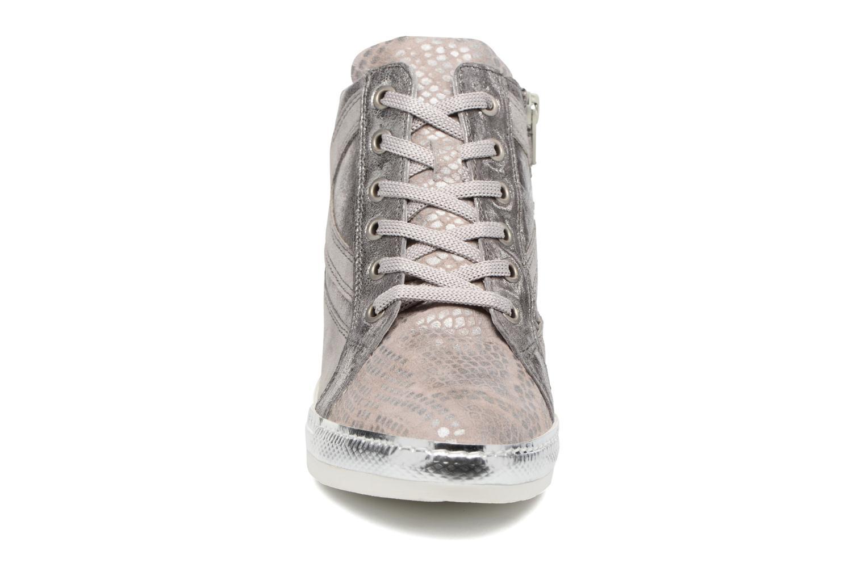Baskets Khrio Alessia Marron vue portées chaussures