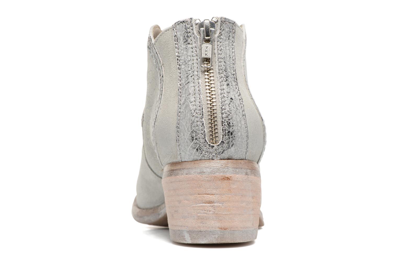 Bottines et boots Khrio Giorgia Beige vue droite
