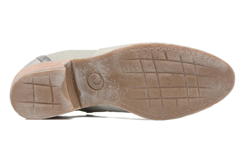 Stiefeletten & Boots Khrio Giorgia beige ansicht von oben