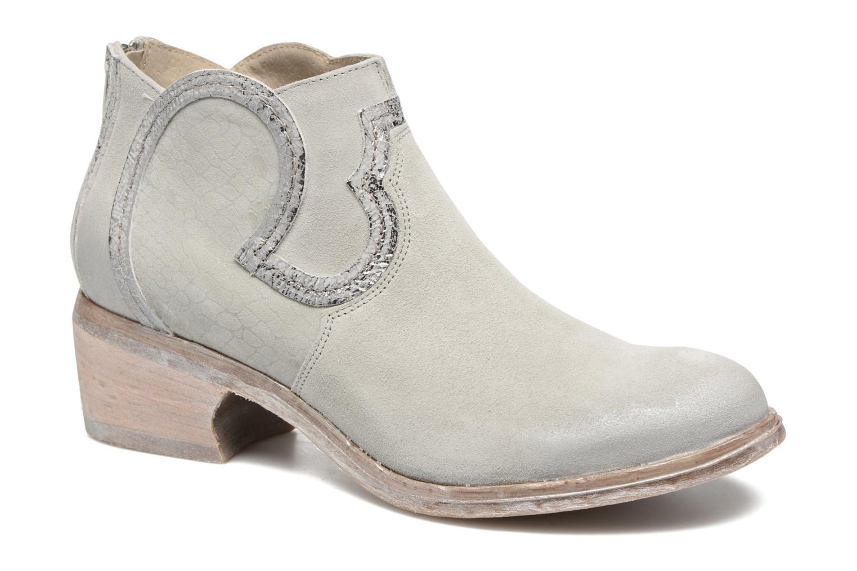 Bottines et boots Khrio Giorgia Beige vue détail/paire