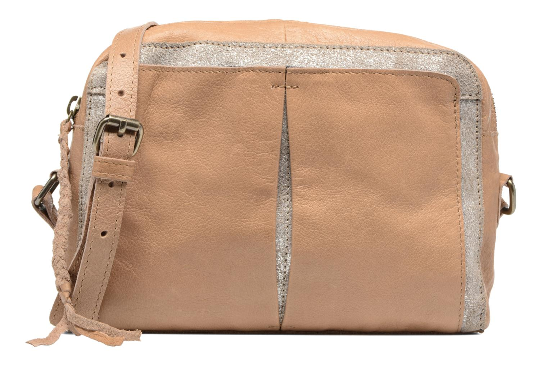 Sacs à main Pieces Jace Leather Crossover bag Beige vue détail/paire