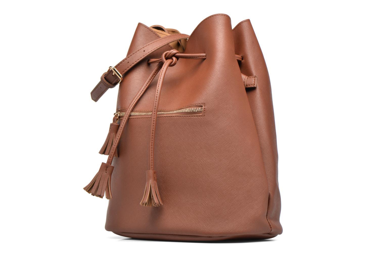 Handtaschen Pieces Lellis Tighten bag braun schuhe getragen