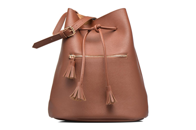 Sacs à main Pieces Lellis Tighten bag Marron vue détail/paire