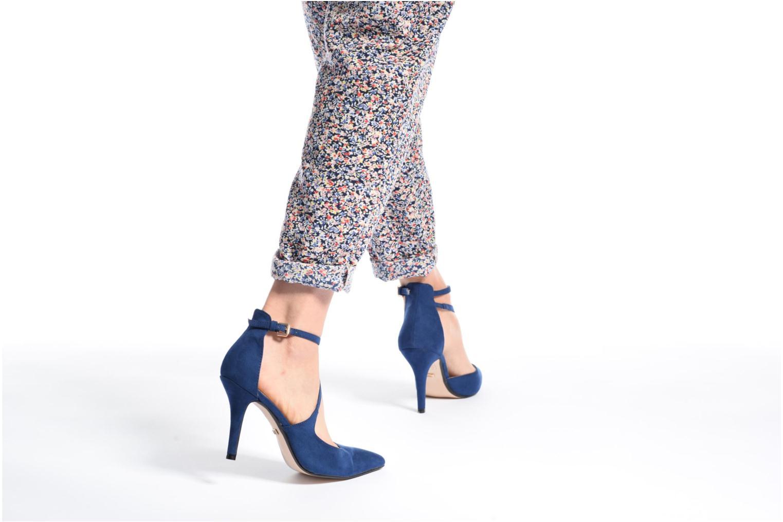 Zapatos de tacón Buffalo Joly Azul vista de abajo