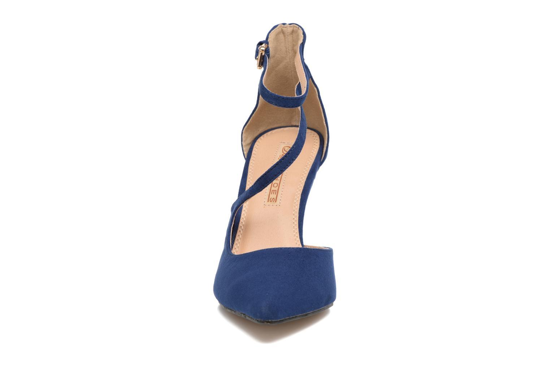Zapatos de tacón Buffalo Joly Azul vista del modelo