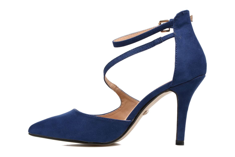 Zapatos de tacón Buffalo Joly Azul vista de frente
