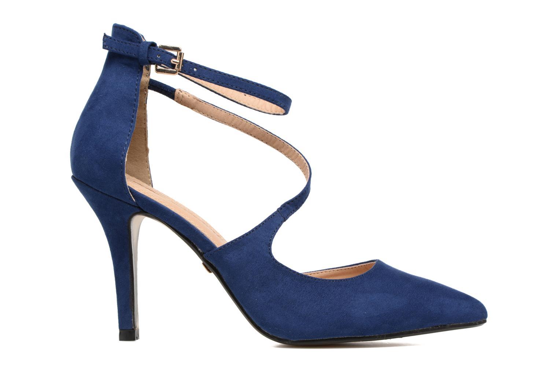 Zapatos de tacón Buffalo Joly Azul vistra trasera