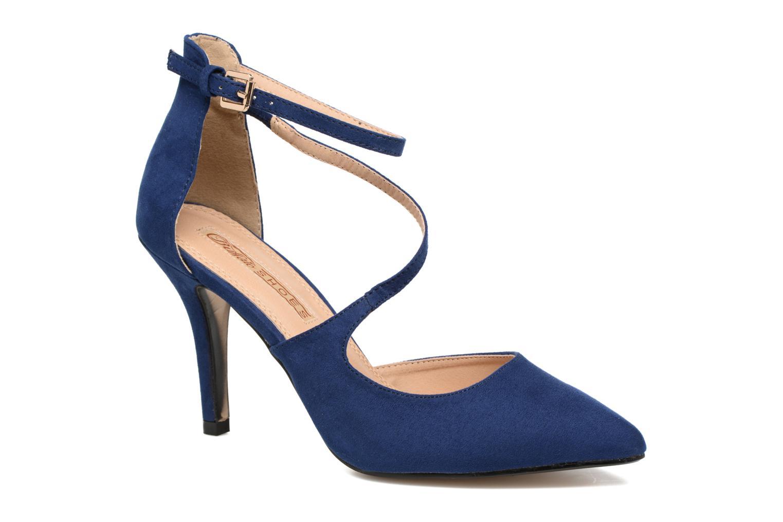 Zapatos de tacón Buffalo Joly Azul vista de detalle / par