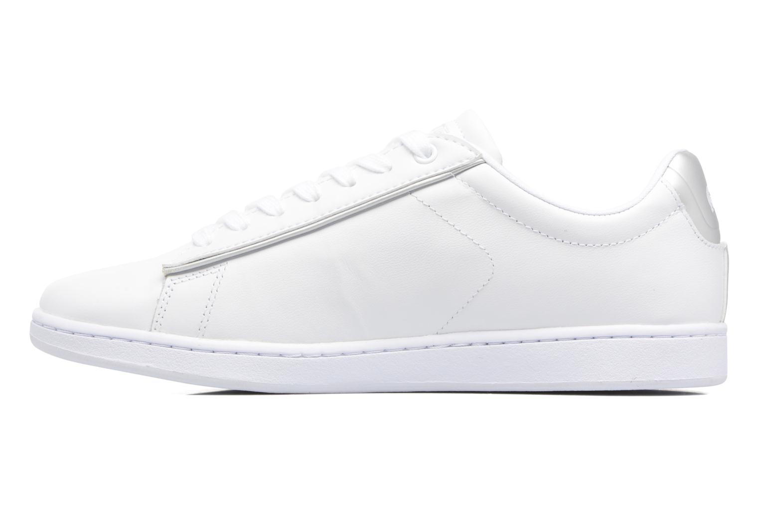 Baskets Lacoste Carnaby Evo 217 2 Blanc vue face