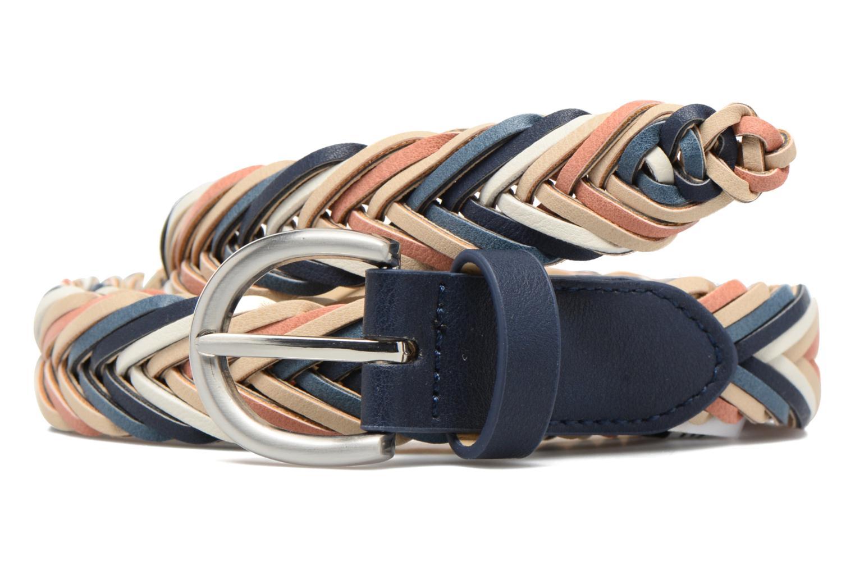 Lion Braided Jeans Belt Navy Blazer