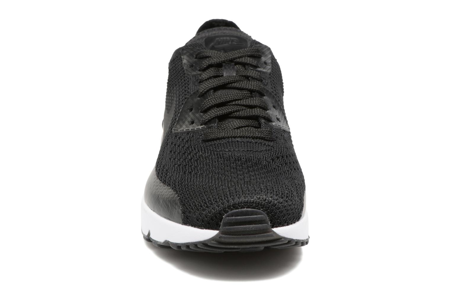 Trainers Nike Air Max 90 Ultra 2.0 Flyknit Black model view