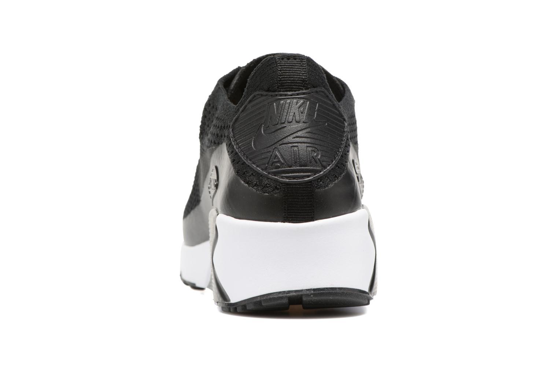 Baskets Nike Air Max 90 Ultra 2.0 Flyknit Noir vue droite
