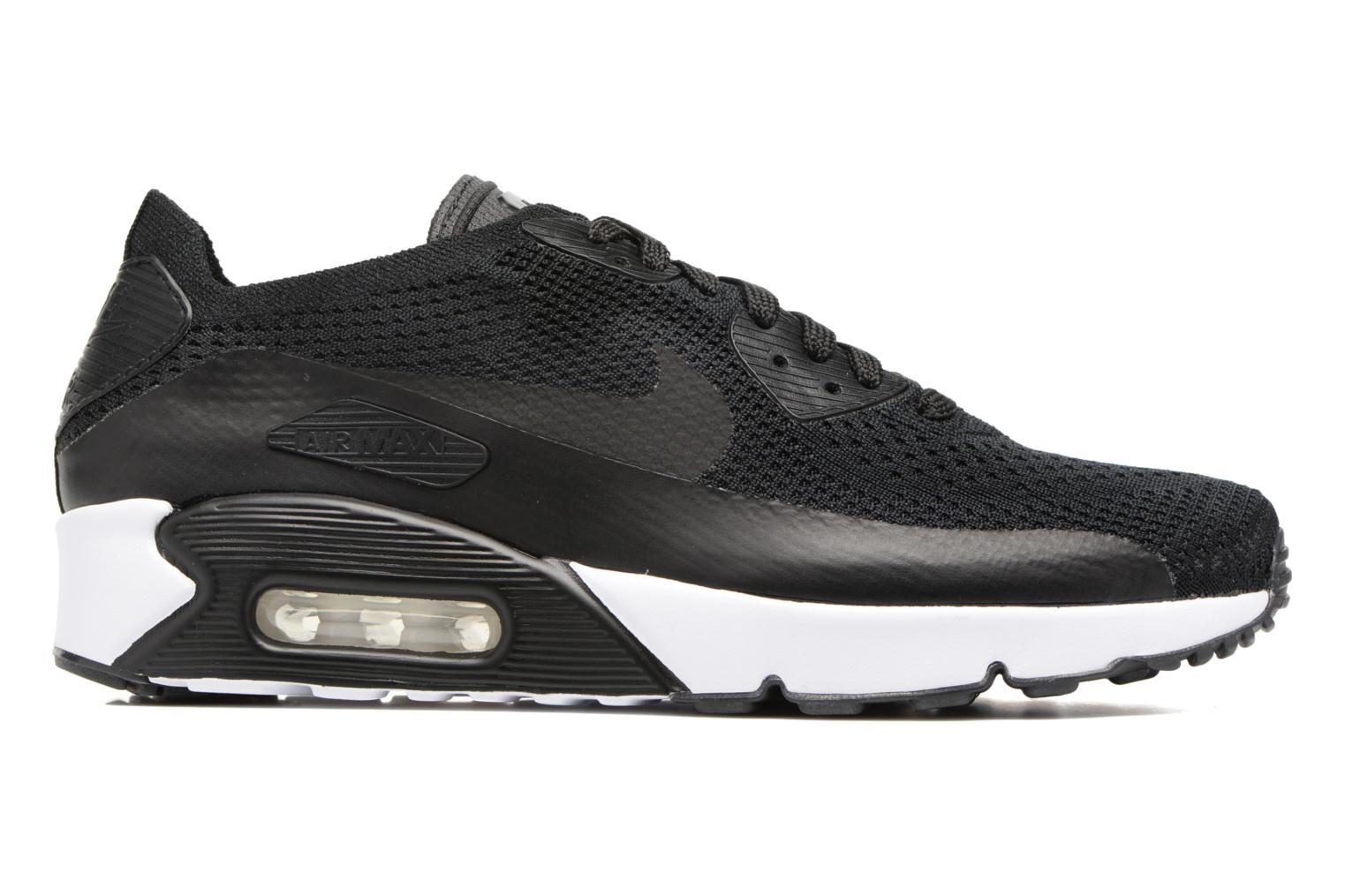 Trainers Nike Air Max 90 Ultra 2.0 Flyknit Black back view