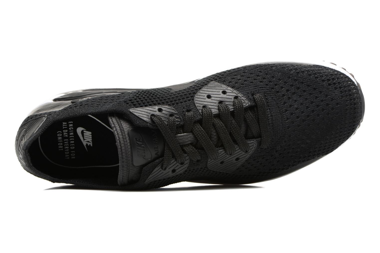 Sneaker Nike Air Max 90 Ultra 2.0 Flyknit schwarz ansicht von links