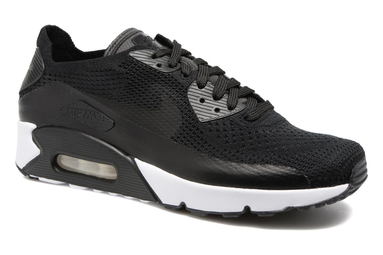 Deportivas Nike Air Max 90 Ultra 2.0 Flyknit Negro vista de detalle / par