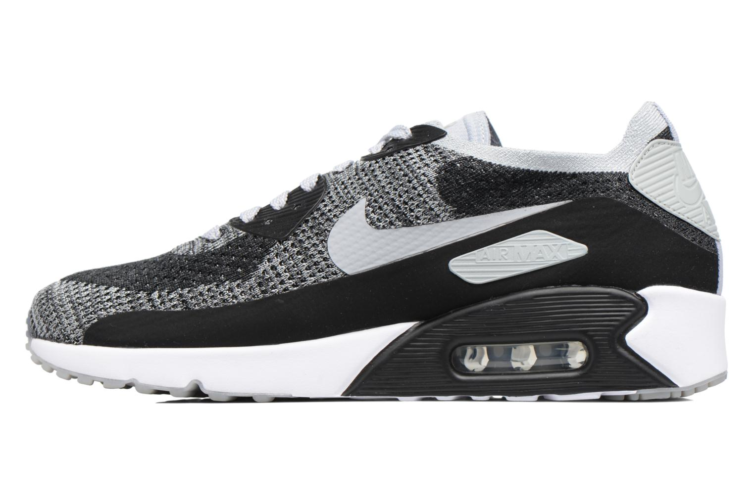 Air Max 90 Ultra 2.0 Flyknit Black/Wolf Grey-Pure Platinum-Dark Grey