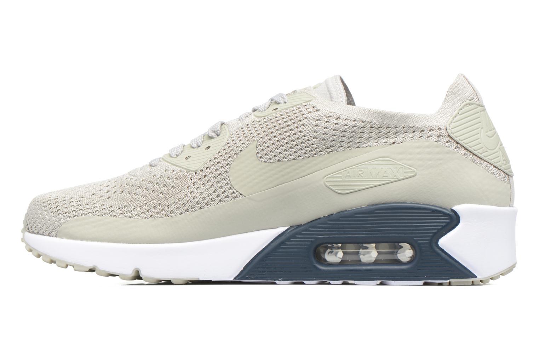 Sneaker Nike Air Max 90 Ultra 2.0 Flyknit beige ansicht von vorne