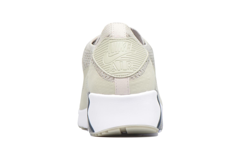 Sneaker Nike Air Max 90 Ultra 2.0 Flyknit beige ansicht von rechts
