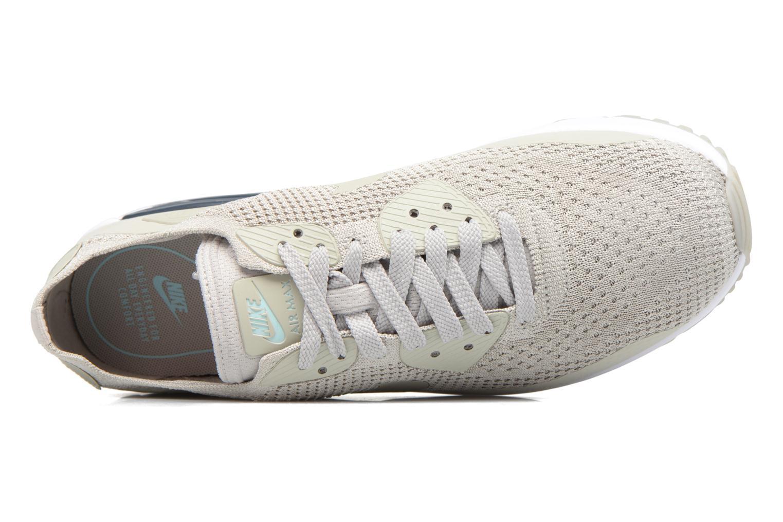 Sneaker Nike Air Max 90 Ultra 2.0 Flyknit beige ansicht von links