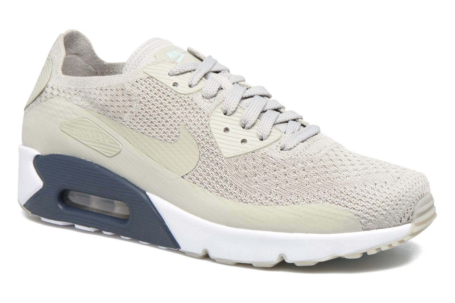 Air Max 90 Ultra 2.0 Flyknit Pale Grey/Pale Grey-Armory Navy