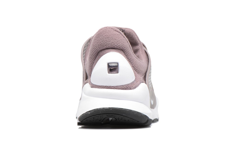 Sneakers Nike Wmns Nike Sock Dart Lilla Se fra højre