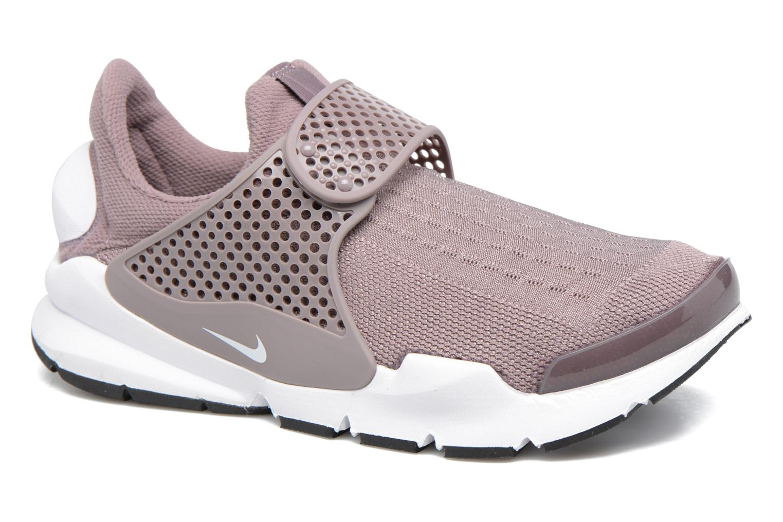 Sneakers Nike Wmns Nike Sock Dart Lilla detaljeret billede af skoene