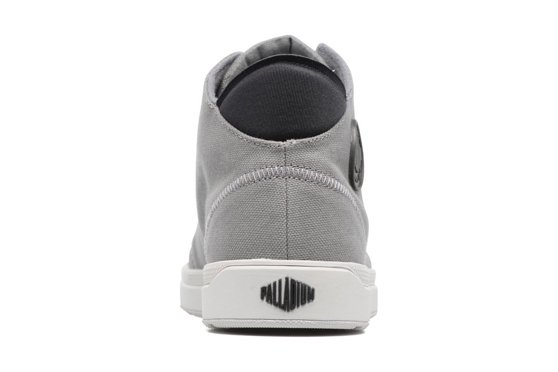 Sneakers Palladium Desrue Mid H Grigio immagine destra