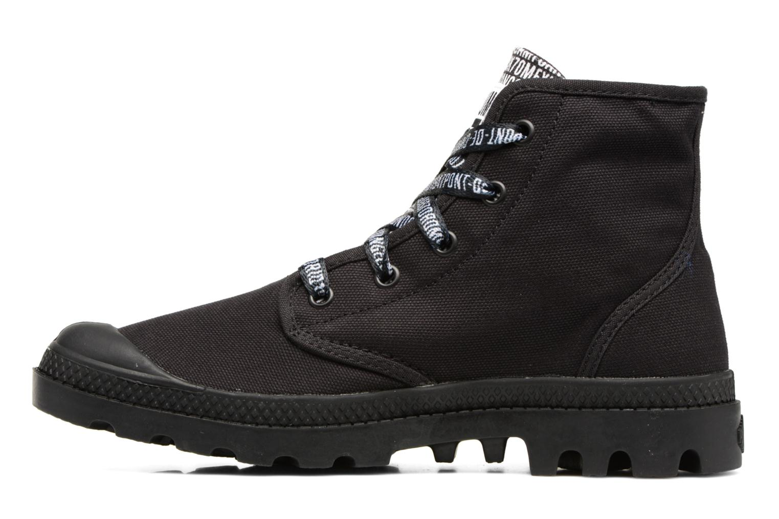 Sneakers Palladium Pampa Hi 70Th U Nero immagine frontale