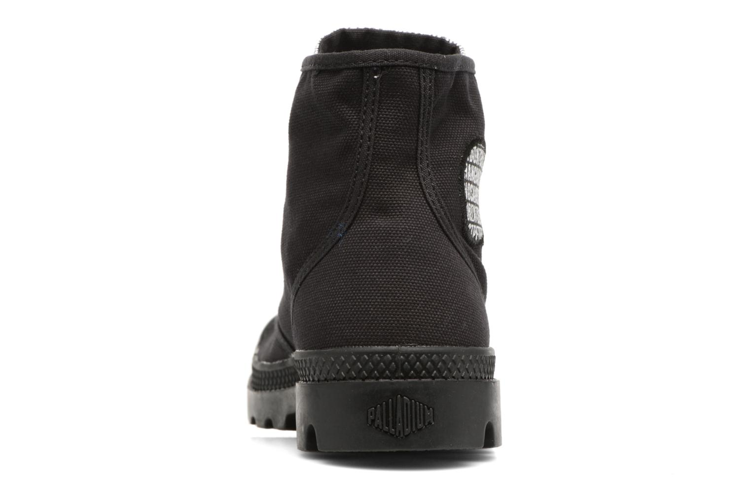 Sneakers Palladium Pampa Hi 70Th U Nero immagine destra