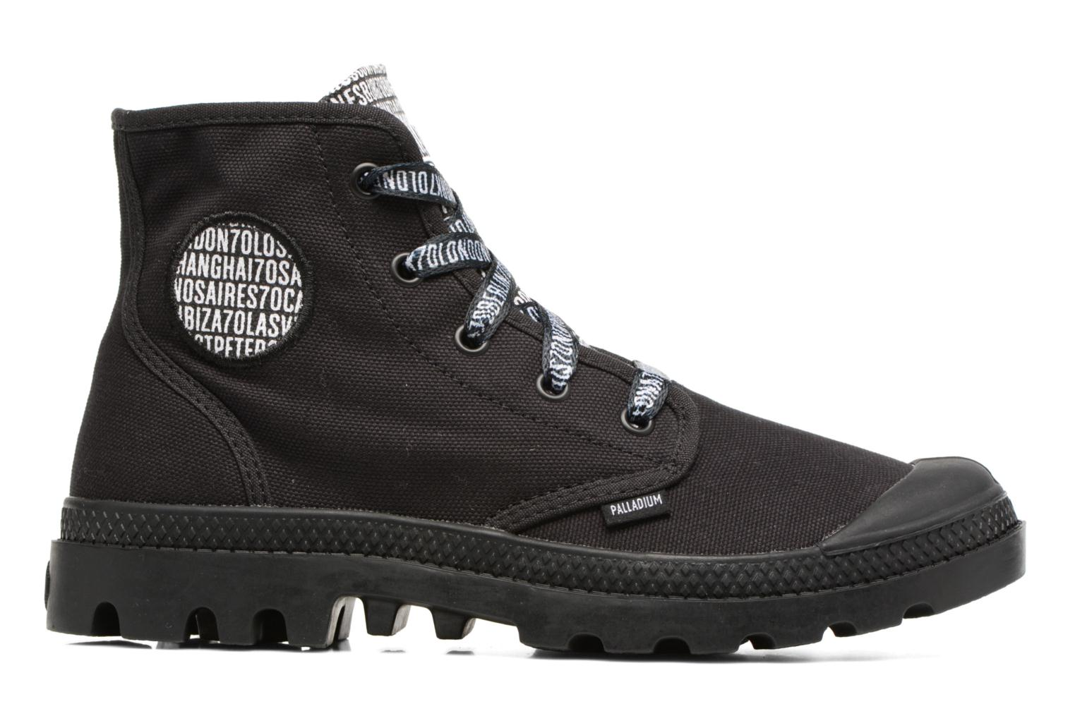 Sneakers Palladium Pampa Hi 70Th U Nero immagine posteriore