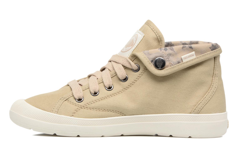 Sneakers Palladium Aventure F Verde immagine frontale