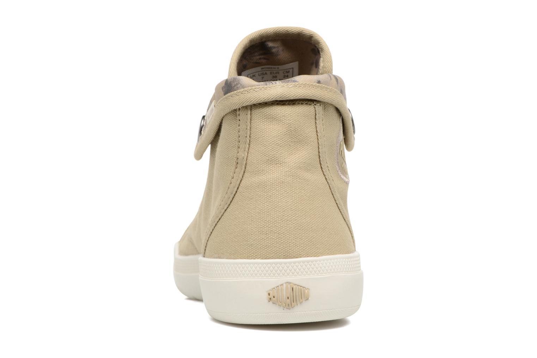 Sneakers Palladium Aventure F Verde immagine destra