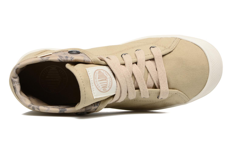 Sneakers Palladium Aventure F Verde immagine sinistra