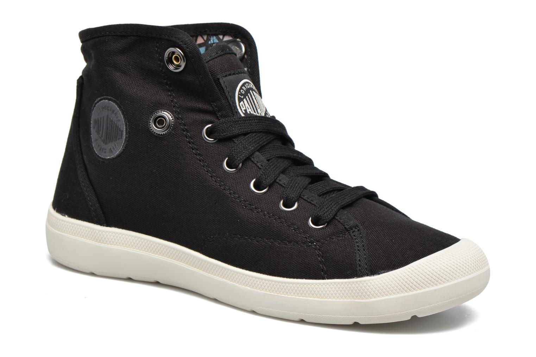 Sneakers Palladium Aventure F Sort 3/4 billede